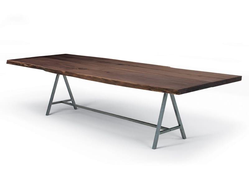 Rectangular wooden table TAVOLA - Riva 1920