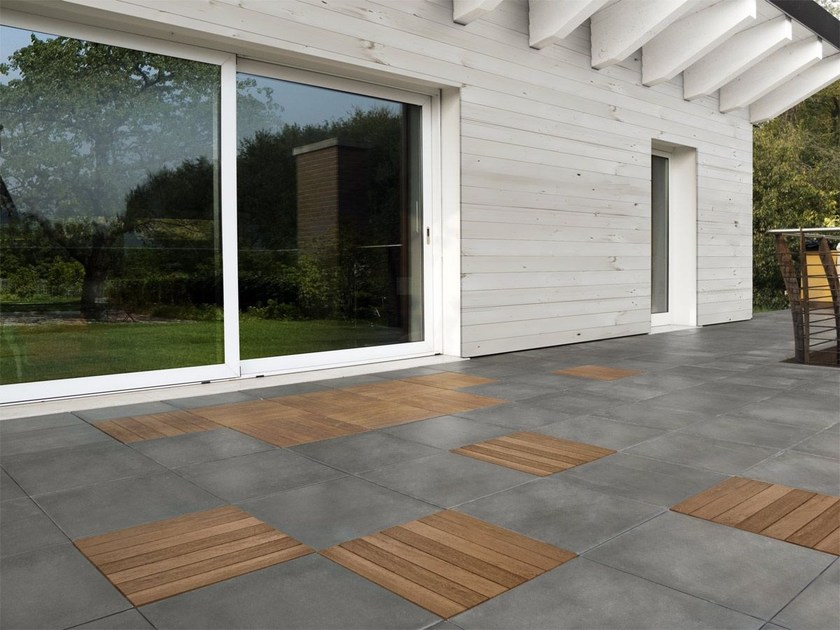 Wooden outdoor floor tiles GLI SPECIALI | WOOD by FAVARO1