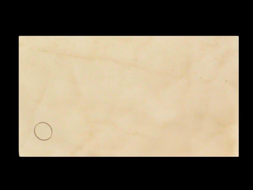 Flush fitting rectangular natural stone shower tray SMERALDO - DANILO RAMAZZOTTI ITALIAN HOUSE FLOOR