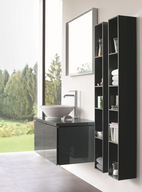 l cube spiegel by duravit design christian werner. Black Bedroom Furniture Sets. Home Design Ideas