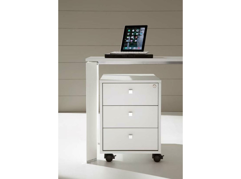 Office drawer unit with casters with lock COWORK | Office drawer unit - IFT