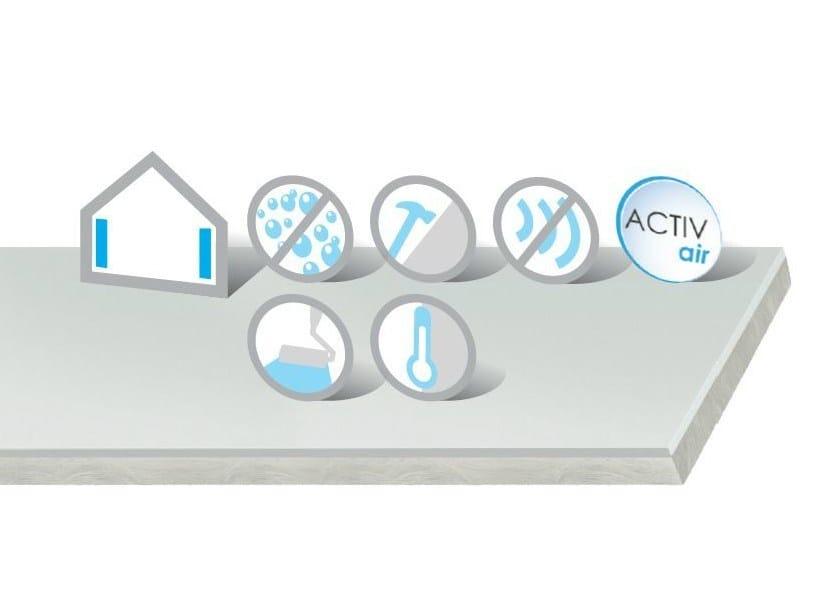 Gypsum plasterboard Habito Clima Activ'Air® - Saint-Gobain Gyproc