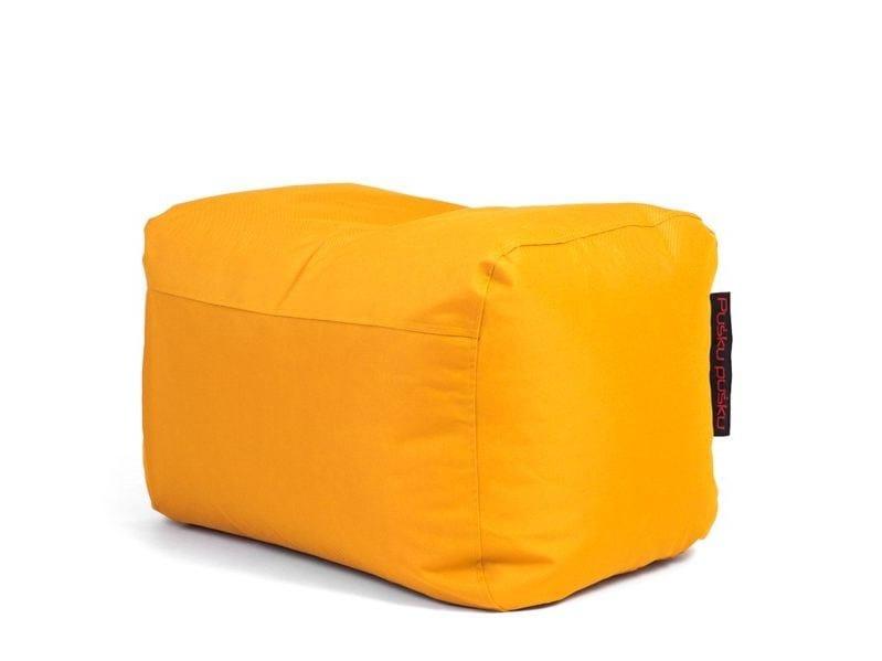 Upholstered polyester pouf PLUS OX - Pusku pusku
