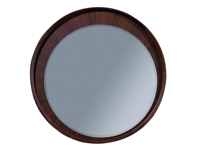 Wall-mounted framed round mirror BEAUCHAMP | Mirror - Treca Interiors Paris