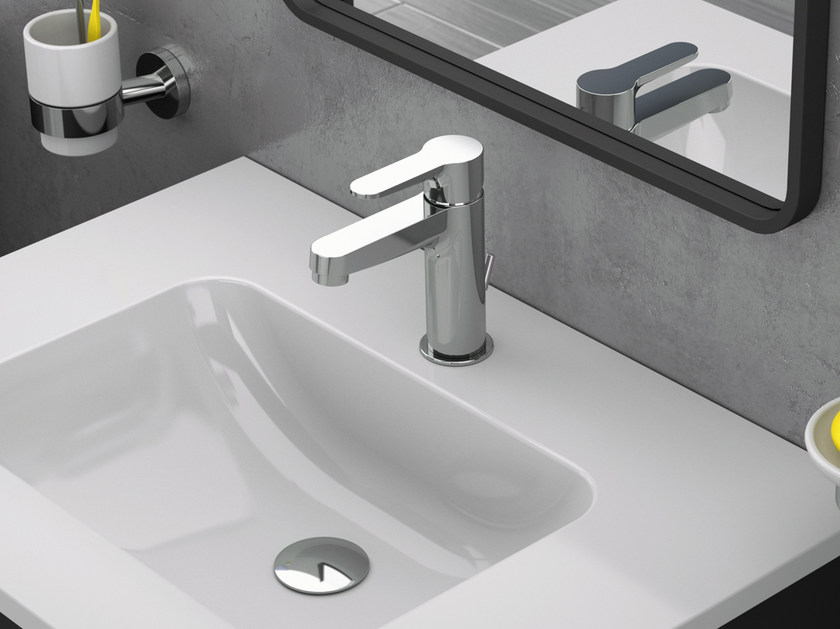 Countertop single handle 1 hole washbasin mixer WINNER | Washbasin mixer - Remer Rubinetterie