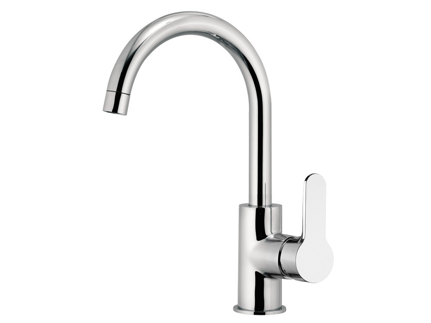 Countertop 1 hole kitchen mixer tap WINNER | Kitchen mixer tap - Remer Rubinetterie