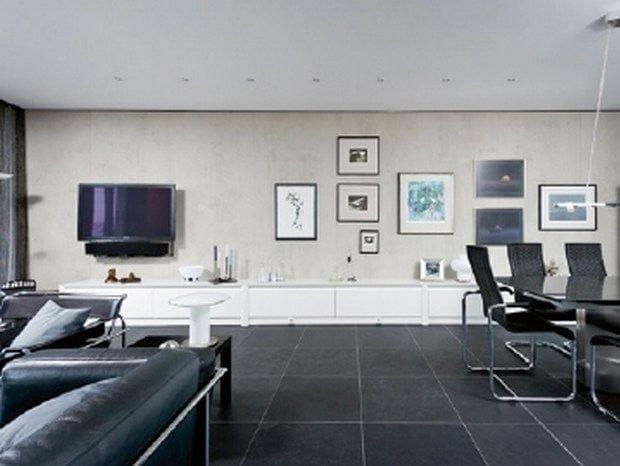 Indoor wall/floor tiles with concrete effect IMI®-BETON VINTAGE - LEGNOPAN