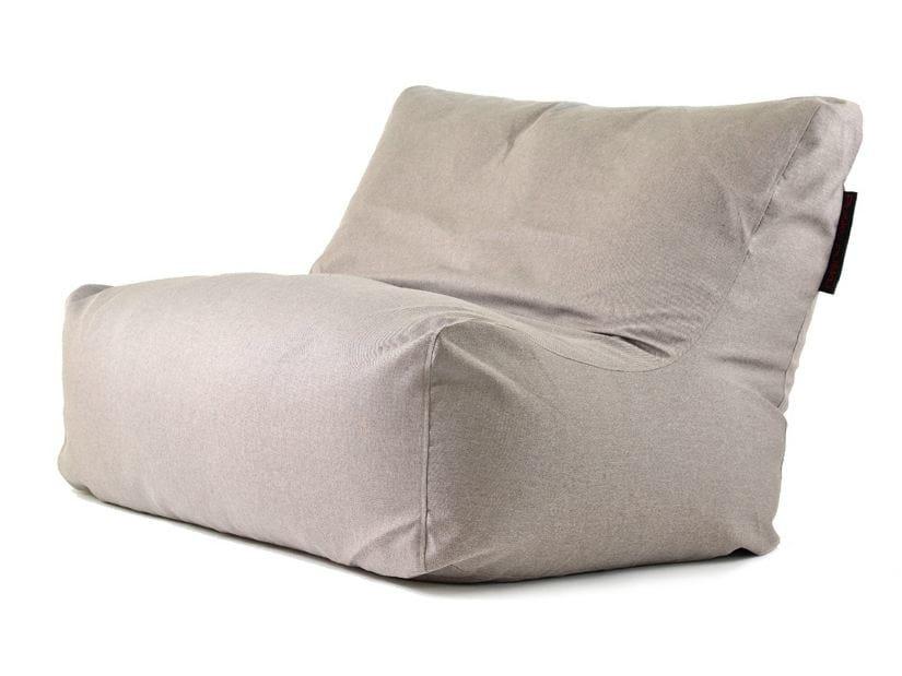 Double upholstered fabric garden armchair SOFA SEAT NORDIC - Pusku pusku