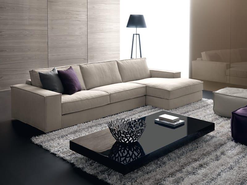 Sofa with chaise longue AVENUE | Sofa with chaise longue - Divanidea