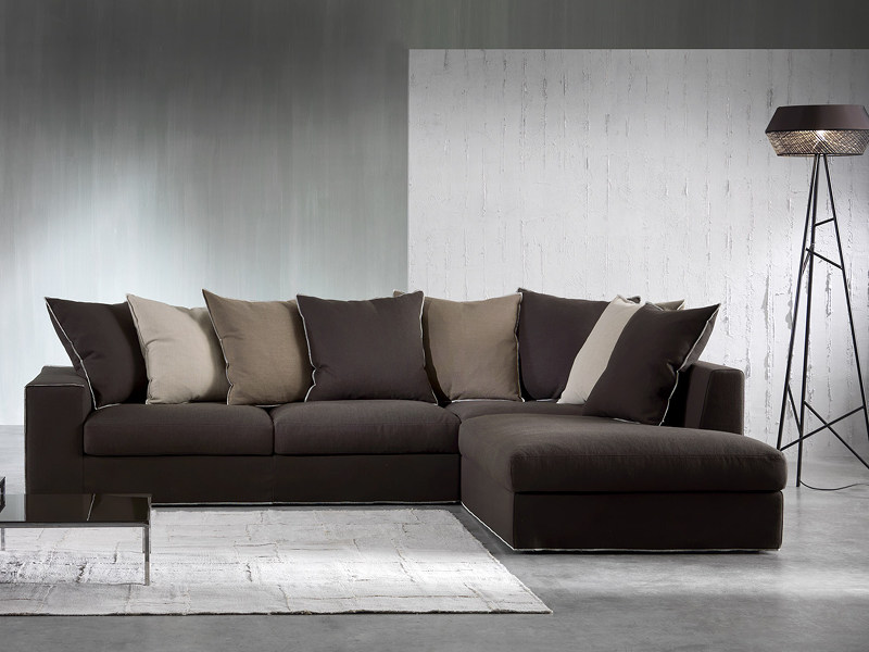 Sofa with chaise longue HERITAGE | Sofa with chaise longue - Divanidea