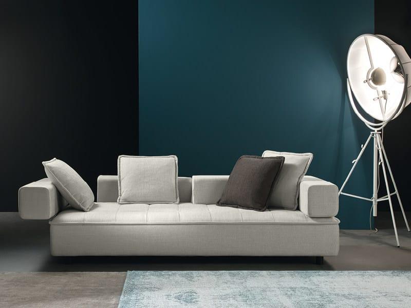 Convertible 3 seater sofa ZOOM - Divanidea