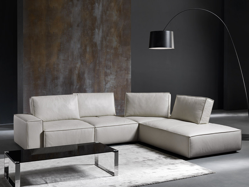 Corner convertible sofa DIAPASON by Divanidea