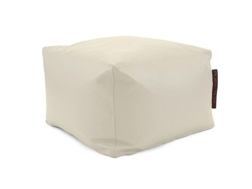 Square imitation leather garden pouf SOFTBOX OUTSIDE - Pusku pusku