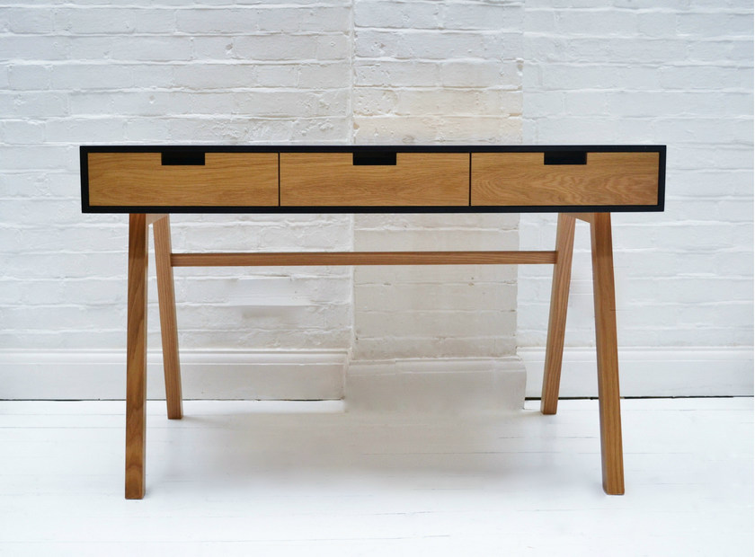 Rectangular writing desk with drawers WRITING DESK - Design by nico