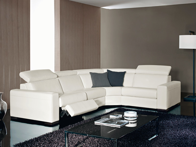 Corner recliner sofa KLINE by Divanidea
