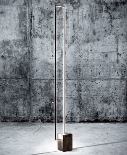 LED floor lamp MIRÉ LT - CINIER Radiateurs Contemporains