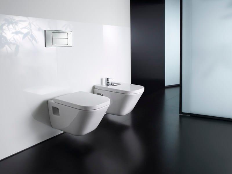 the gap wc suspendu by roca. Black Bedroom Furniture Sets. Home Design Ideas