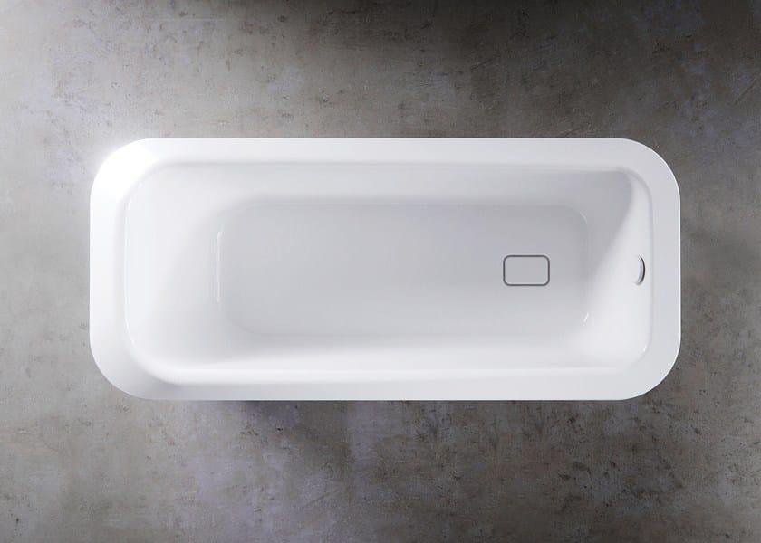 Vasca da bagno centro stanza in acciaio smaltato meisterst ck emerso kaldewei italia - Vasche da bagno in acciaio smaltato ...