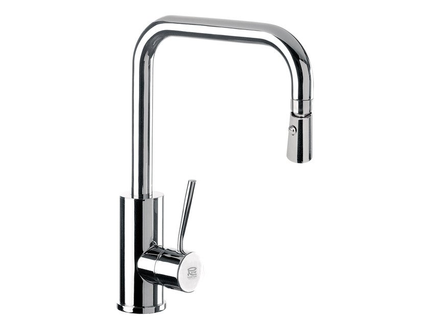 Kitchen mixer tap with swivel spout Q 73 | Kitchen mixer tap by Remer Rubinetterie