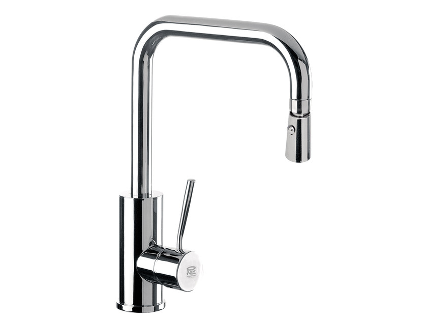 Kitchen mixer tap with swivel spout Q 73 | Kitchen mixer tap - Remer Rubinetterie