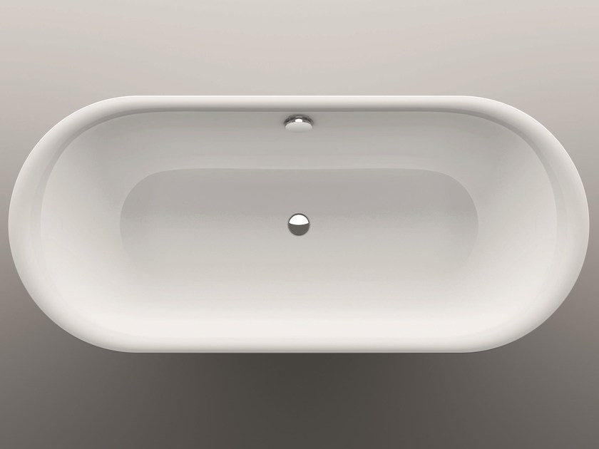 Oval built-in bathtub BETTELUX OVAL - Bette