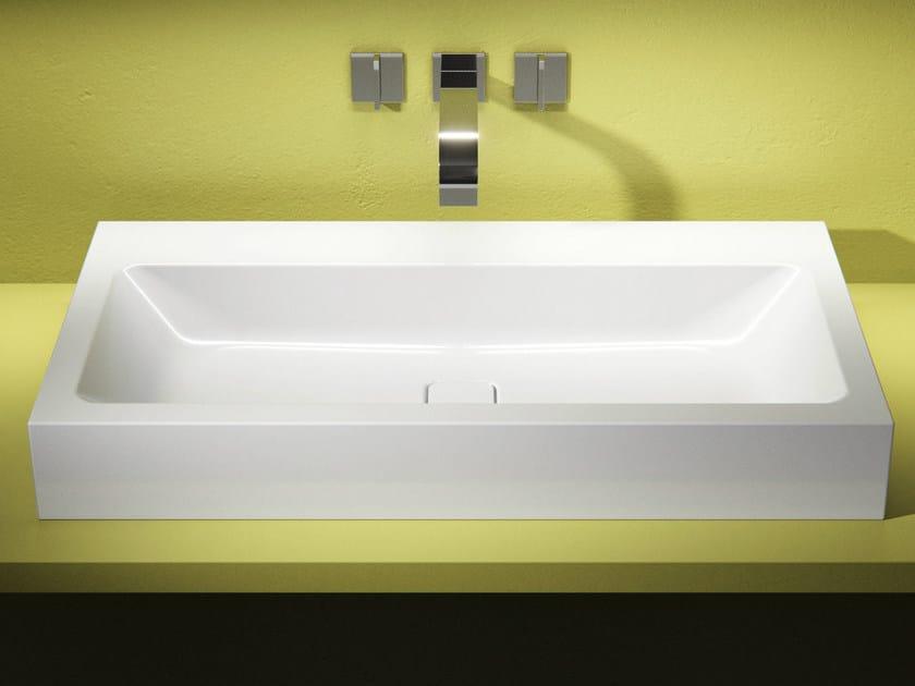 Countertop enamelled steel washbasin CONO | Countertop washbasin - Kaldewei Italia