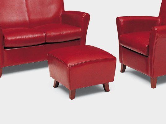 Upholstered pouf RONALD | Upholstered pouf - Divanidea