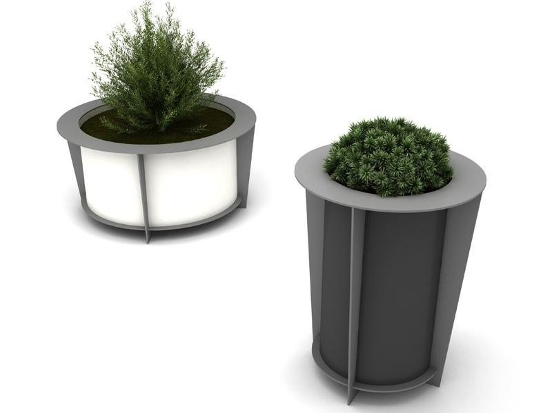 Steel Flower pot BABEL | Flower pot - LAB23 Gibillero Design Collection