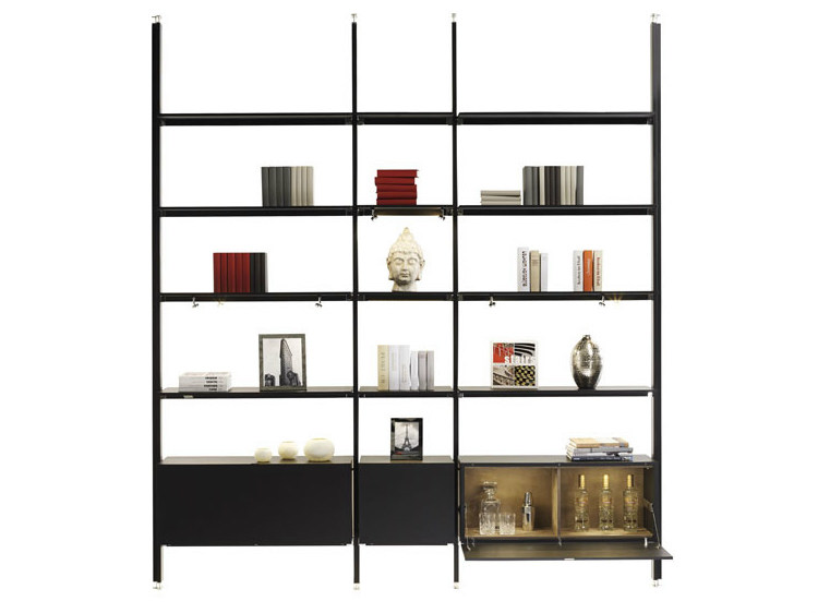 Open double-sided bookcase MAGIC MATRIX | Open bookcase by YOMEI