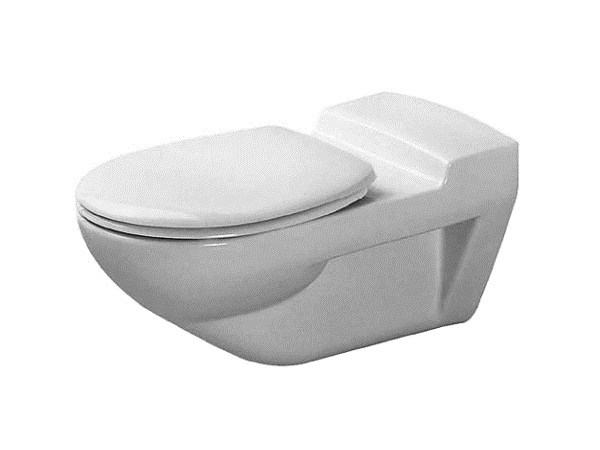 Wall-hung ceramic toilet ARCHITEC | Ceramic toilet - DURAVIT