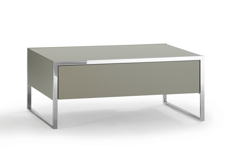 Rectangular bedside table with drawers SMART | Rectangular bedside table - YOMEI