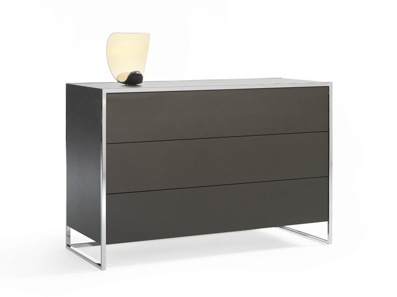 Free standing lacquered chest of drawers SMART | Chest of drawers - YOMEI