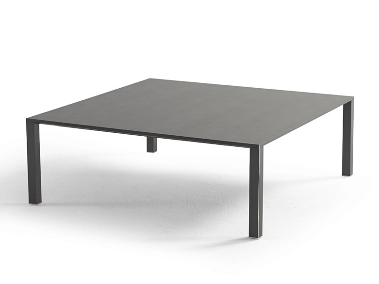 Low square coffee table INFINITY | Low coffee table - YOMEI