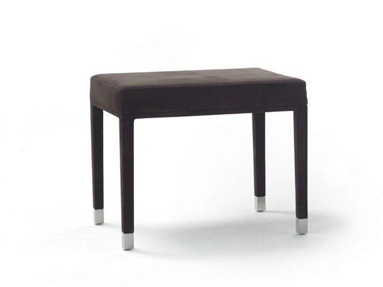 Leather footstool / stool Q - YOMEI