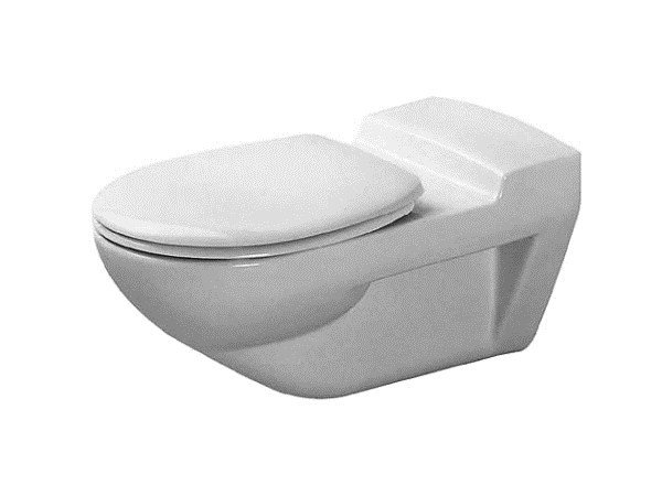 Wall-hung ceramic toilet ARCHITEC | Toilet - DURAVIT