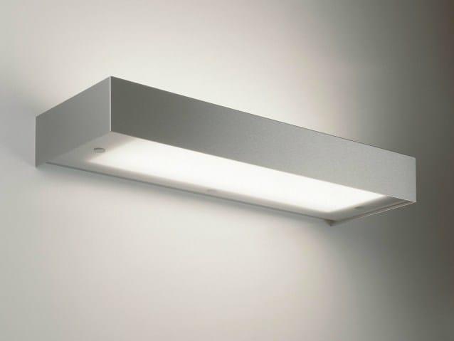 Stainless steel wall light FLATSCREEN 236 EVG - Delta Light