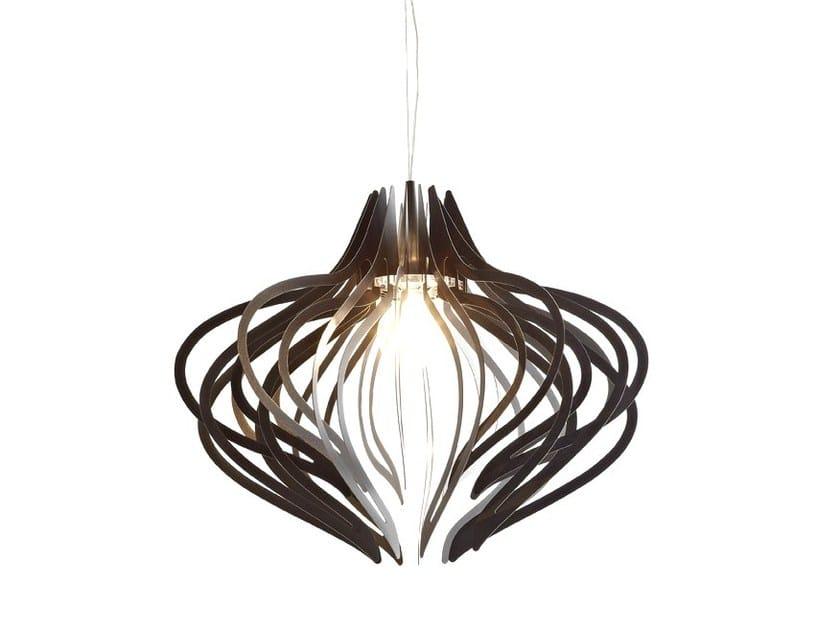 Indirect light pendant lamp MEDUSA IRON - Colico