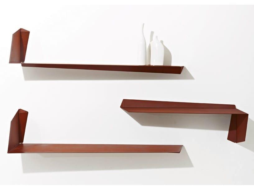 Steel wall shelf MATRIX - Colico