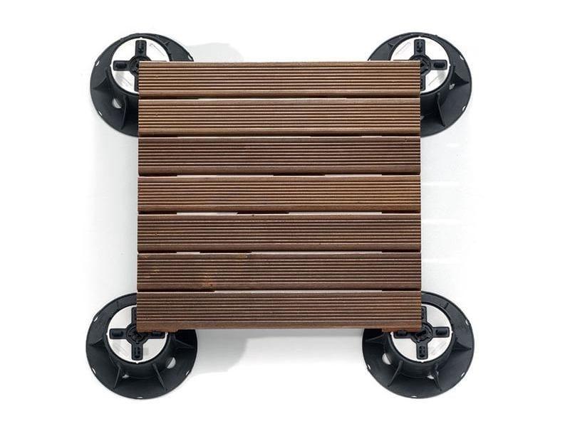 Wooden Modular system for raised flooring WOOD by Italfloor