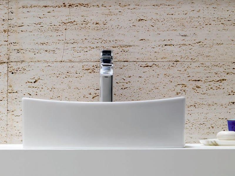 Lavabo da appoggio in porcellana TIBER | LAVABO DA APPOGGIO - ROCA
