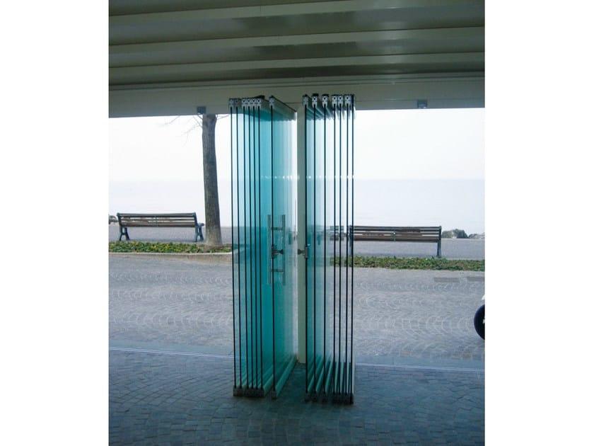 Folding door Balconglas BG-35 - Metalglas Bonomi