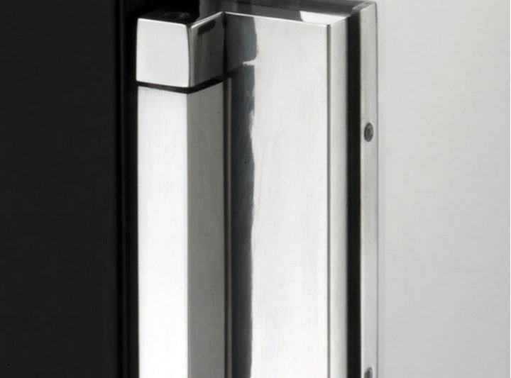 Glass door hinge V-719 | Hinge - Metalglas Bonomi