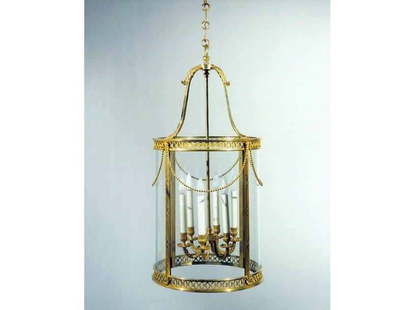 Bronze chandelier 30635 | Chandelier by Tisserant