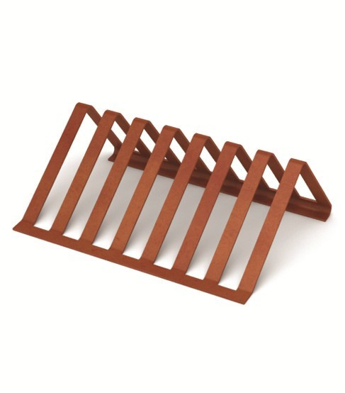 Portabici in acciaio pitagora lab23 gibillero design for Acciaio corten prezzo al kg