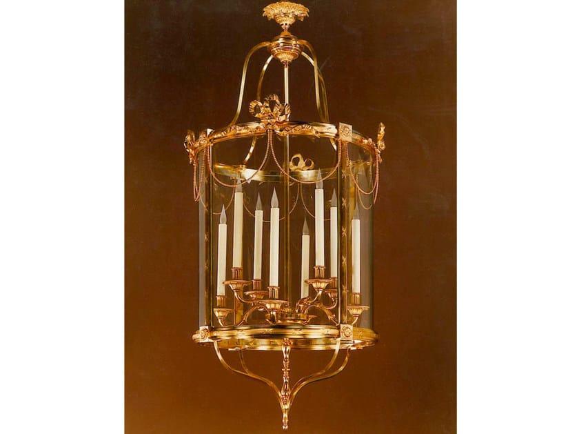 Bronze chandelier 30781 | Chandelier by Tisserant