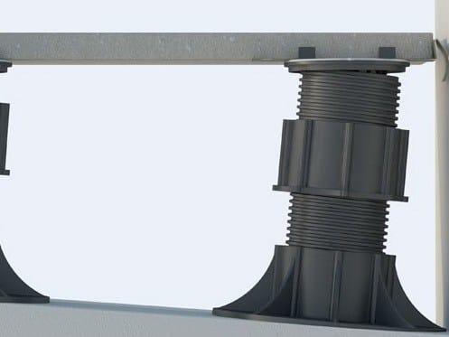 Modular system for raised flooring Modular system for raised flooring - Italfloor