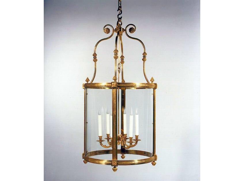 Bronze chandelier 30786 | Chandelier by Tisserant