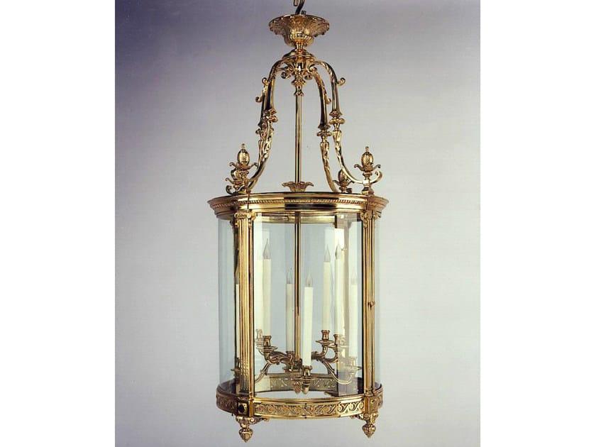 Bronze chandelier 30788 | Chandelier by Tisserant
