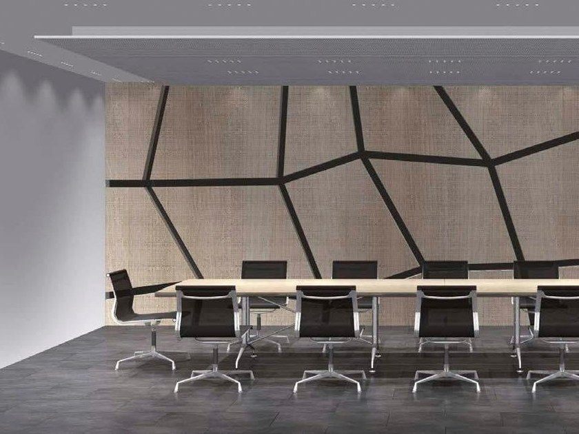Decorative acoustical panels EGGER PROAKUSTIK - LEGNOPAN