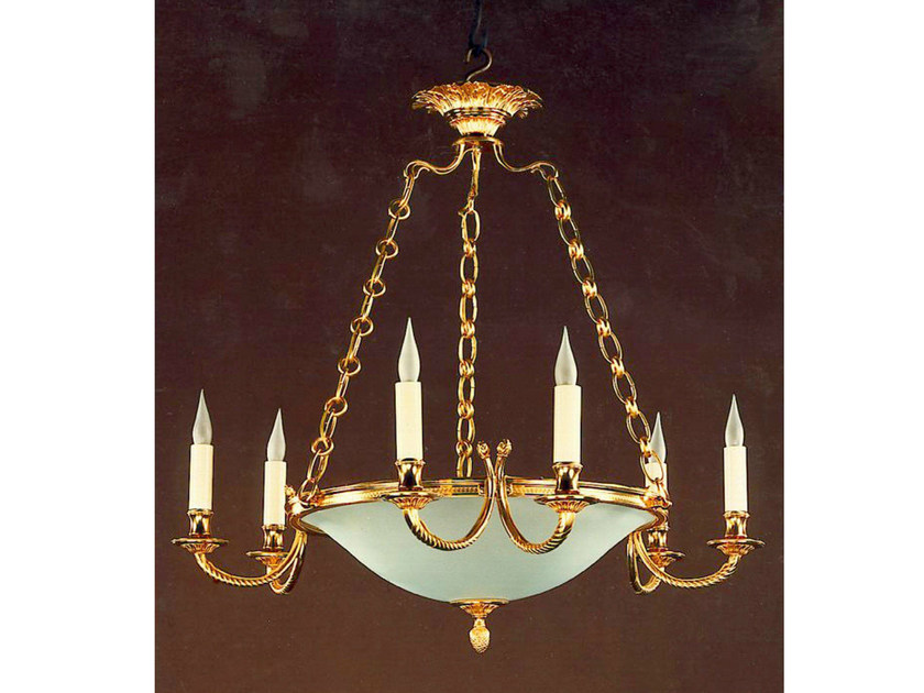 Bronze chandelier 30989 | Chandelier - Tisserant
